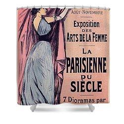 Exposition Des Arts De La Femme Shower Curtain by Gianfranco Weiss