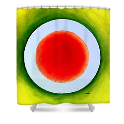 Express Yourself Shower Curtain by Thomas Gronowski