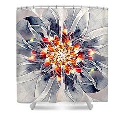 Exquisite Shower Curtain by Anastasiya Malakhova