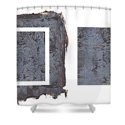 Extraction Vi Shower Curtain by Paul Davenport