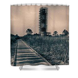 Extreme Makeover Lighthouse Edition Shower Curtain by Tony Cooper