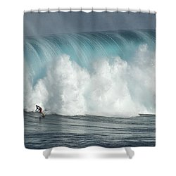 Extreme Ways Of Living Shower Curtain by Bob Christopher