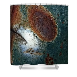 Extremophile Abstract Shower Curtain by Lee Craig