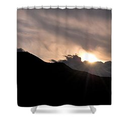 Eye In The Sky Shower Curtain by Matt Harang