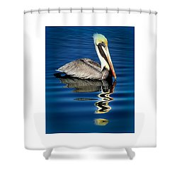 Eye Of Reflection Shower Curtain