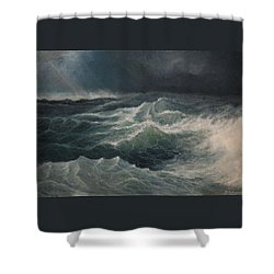 Eye Of Storm Shower Curtain