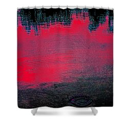 Create Reality Abstract Shower Curtain