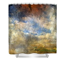 Eye Of The Storm  - Abstract Realism Shower Curtain