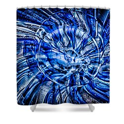 Eye Of The Storm Shower Curtain by Omaste Witkowski