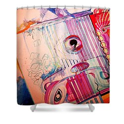 Eye On Art Shower Curtain