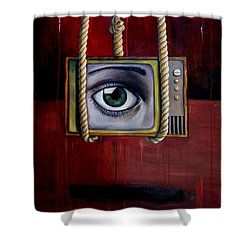 Eye Witness Shower Curtain by Leah Saulnier The Painting Maniac