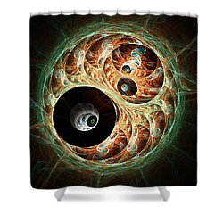 Eyeballs Shower Curtain by Anastasiya Malakhova