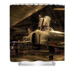 F-4 Phantom Shower Curtain