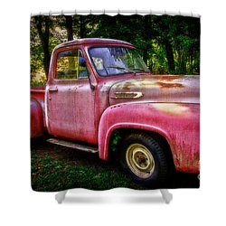 F100 Shower Curtain