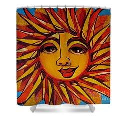 Fabulous Fanny - Here Comes The Sun Shower Curtain