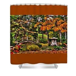 Fabyan Japanese Gardens I Shower Curtain