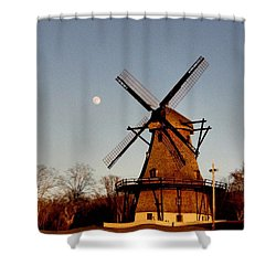 Fabyan Windmill Shower Curtain