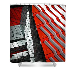 Facadism Shower Curtain by Wayne Sherriff