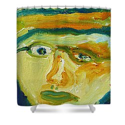 Face Eight Shower Curtain