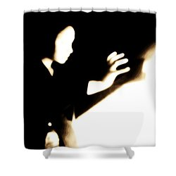 Shower Curtain featuring the photograph Faceless Magician  by Jessica Shelton