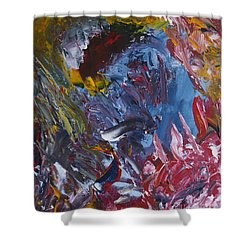 Facing Demons Shower Curtain