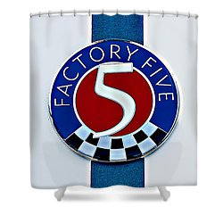 Factory Five Shower Curtain