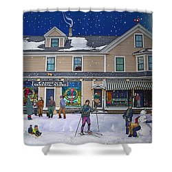 Faddens General Store In North Woodstock Nh Shower Curtain