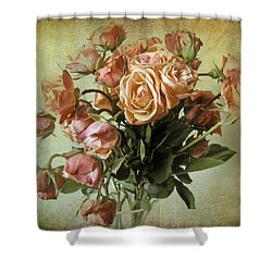 Fade Away Shower Curtain by Jessica Jenney