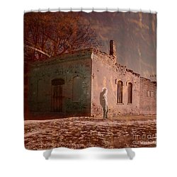Faded Memories Shower Curtain by Desiree Paquette