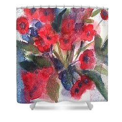 Faded Memories Shower Curtain by Sherry Harradence