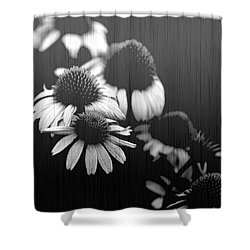 Faded Memory Shower Curtain by Amanda Barcon