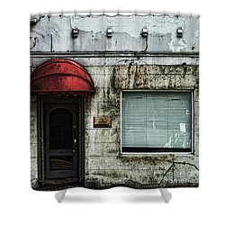 Fading Facade Shower Curtain by Andrew Paranavitana