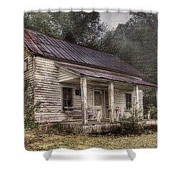 Fading Memories Shower Curtain by Debra and Dave Vanderlaan
