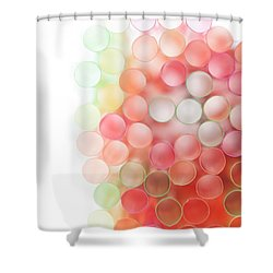 Fading Out Shower Curtain
