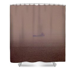 Fading Spector Of The Straits Shower Curtain