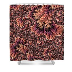Faerie Forest Floor Ill Shower Curtain by Susan Maxwell Schmidt