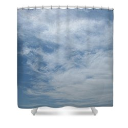 Fair Skies Of Summer Shower Curtain