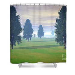 Fairway To Seven Shower Curtain
