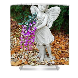 Shower Curtain featuring the photograph Fairy by Aimee L Maher Photography and Art Visit ALMGallerydotcom