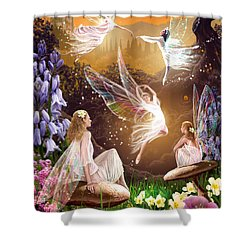 Fairy Ballet Shower Curtain by Garry Walton