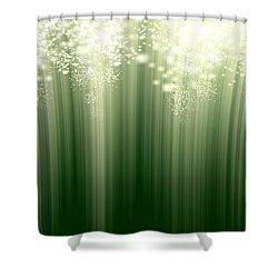 Fairy Grass Shower Curtain