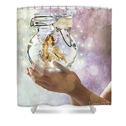 Fairy Shower Curtain by Juli Scalzi