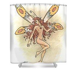 Fairy Love Shower Curtain