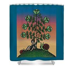 Fairy Series Tina Shower Curtain by Victoria De Almeida