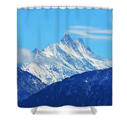 Fairy Tale In Alps Shower Curtain by Felicia Tica