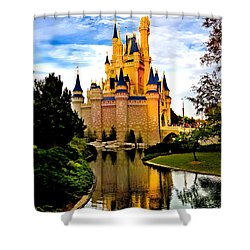 Fairy Tale Twilight Shower Curtain by Greg Fortier