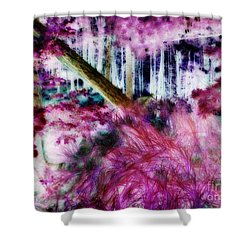 Shower Curtain featuring the photograph Fairy Tropicolor by Jamie Lynn