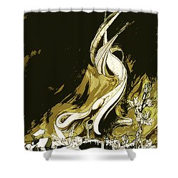 Fee Shower Curtain