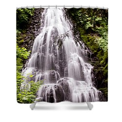 Shower Curtain featuring the photograph Fairy's Playground by Suzanne Luft
