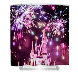 Fairytales Do Come True Shower Curtain by Sara Frank